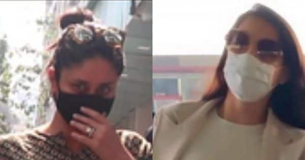 स्पॉटेड: करीना कपूर एक क्लिनिक का दौरा करती हैं;  एयरपोर्ट पर दिखीं नोरा फतेही