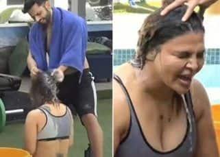 Bigg Boss 14 Promo: बाथरूम पर लगा ताला तो Rahul Vaidya ने Rakhi Sawant को अपने हाथों से नहलाया, देखें वीडियो