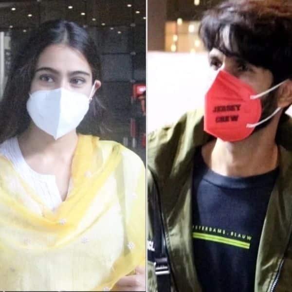 Spotted: Sara Ali Khan clicked at the airport; Shahid Kapoor returns to Mumbai