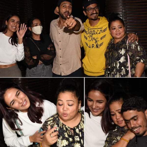 Jasmin Bhasin, Bigg Boss 14, Jasmin Bhasin Instagram, Jasmin Bhasin Juhu, Jasmin Bhasin with friends, <a class='autogentags' href='https://www.bollywoodlife.com/celeb/bharti-singh/'>Bharti Singh</a>, Puneet Pathak, बिग बॉस 14, जैस्मिन भसीन, भारती सिंह, पुनीत पाठक