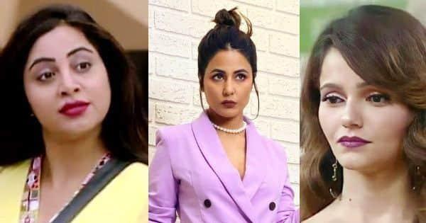 बिग बॉस 14: अर्शी खान की सबसे अच्छी दोस्त REACTS रुबीना दिलाइक की अपमानजनक टिप्पणी;   'वह सीजन 11 में हिना खान की तरह व्यवहार कर रही है' |