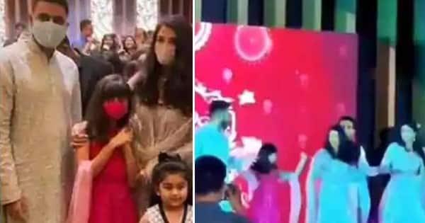 Aaradhya Bachchan dancing of Desi Girl with mom Aishwarya ...