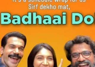 Badhaai Do: Rajkummar Rao, Bhumi Pednekar and the rest of the team wrap up the schedule with a special 'Pawri Ho Rahi Hai' video