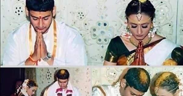 Throwback: On Mahesh Babu-Namrata Shirodkar's 16th marriage anniversary, sister Shilpa shares wedding pics wi - Bollywood Life