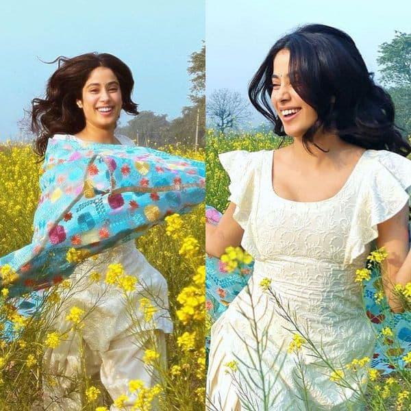 Janhvi Kapoor's filmy moment