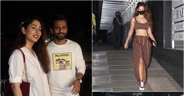 Lovebirds Rahul Vaidya-Disha Parmar and Tiger Shroff-Disha Patani step out for cozy dinner dates — view pics - Bollywood Life