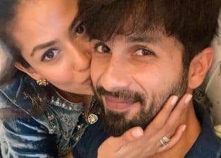 Happy birthday, Shahid Kapoor: Mira Kapoor kisses the birthday boy as she posts a mushy picture to wish the Jersey actor