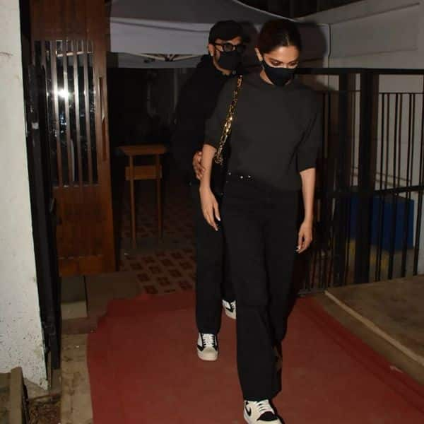 Ranveer Singh and Deepika Padukone step out for a cozy ...