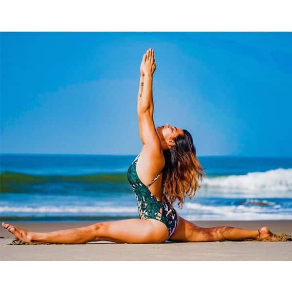 Aashka Goradia and Yoga