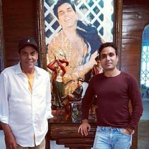 Legendary actor Dharmendra passes his knowledge of organic farming to Bollywood Diaries actor Salim Diwan