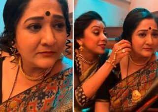 Anupamaa के सेट पर ऑनस्क्रीन सास संग Rupali Ganguly ने की मस्ती, देखें Videos
