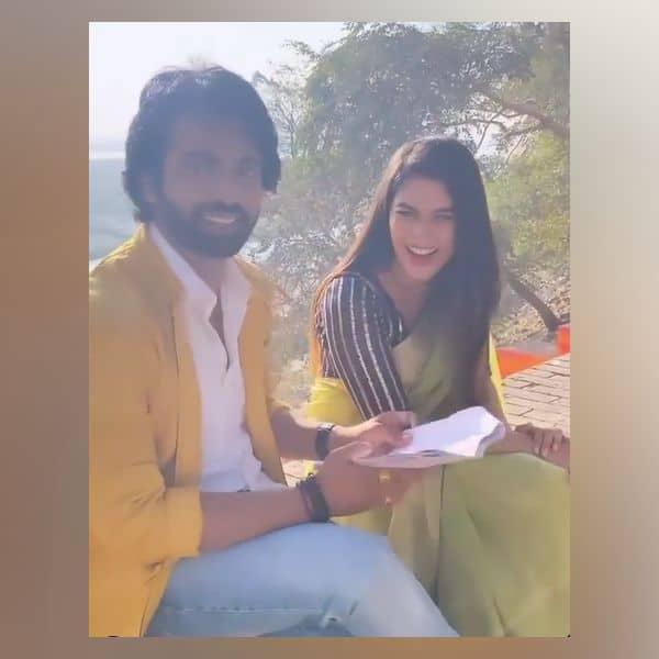 जमकर बातें करते दिखे अरहान बहल (Arhaan Behll) और पूजा गौर (Pooja Gor)