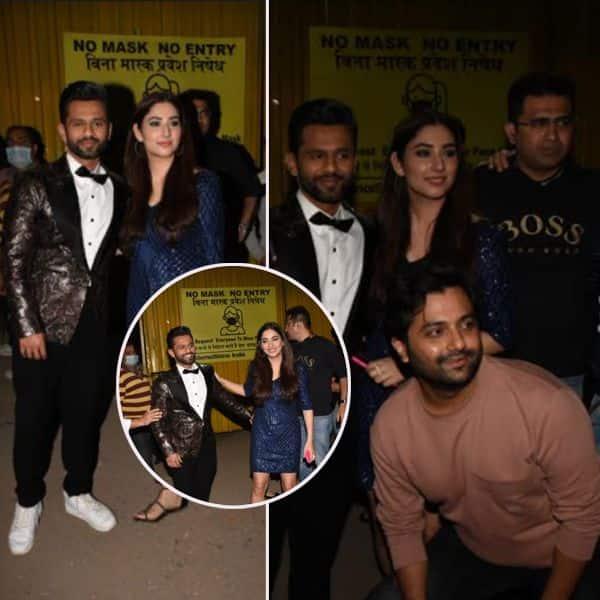 'बिग बॉस 14' (Bigg Boss 14 Finale) के सेट पर  गर्लफ्रेंड से मिले राहुल वैद्य (Rahul Vaidya)