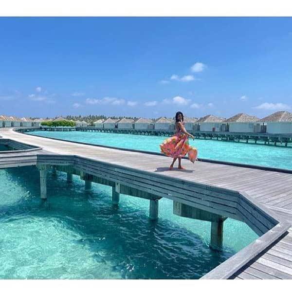 तीन हफ्ते पहले मालदीव्स गई थीं एरिका फर्नांडिंस (Erica Fernandes)