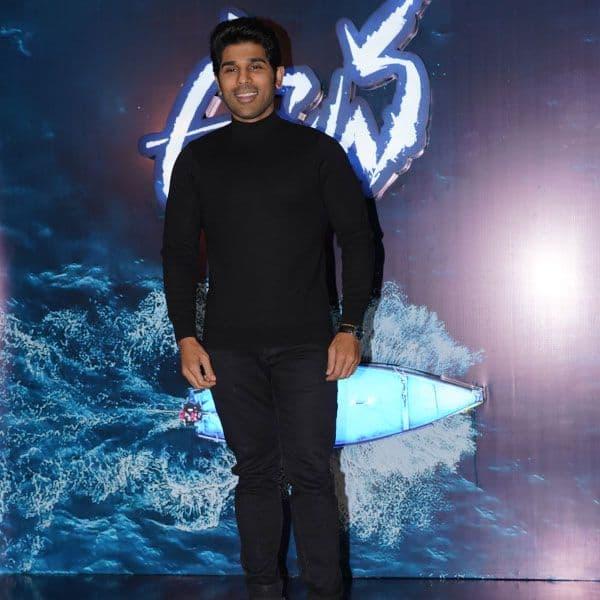 Allu Sirish makes a stylish entry