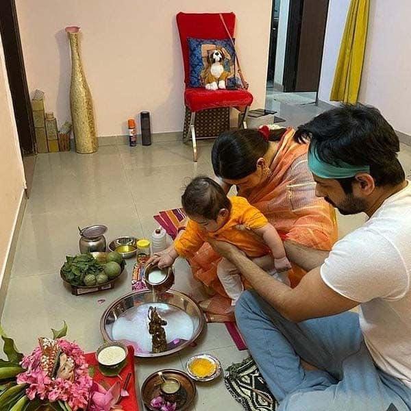 काफी चंचल है पूजा और कुणाल का बेटा कृशिव