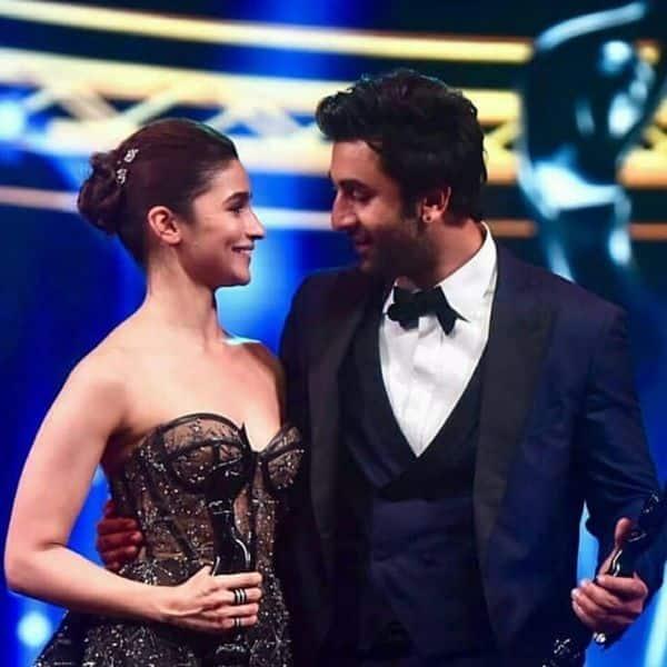 When Alia said 'I Love You' to Ranbir at Filmfare Awards