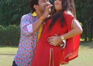 Aamrapali Dubey की अदाओं को देख Dinesh Lal Yadav ने कहा 'क्रेजी मुझको कर देती है...', देखें वीडियो