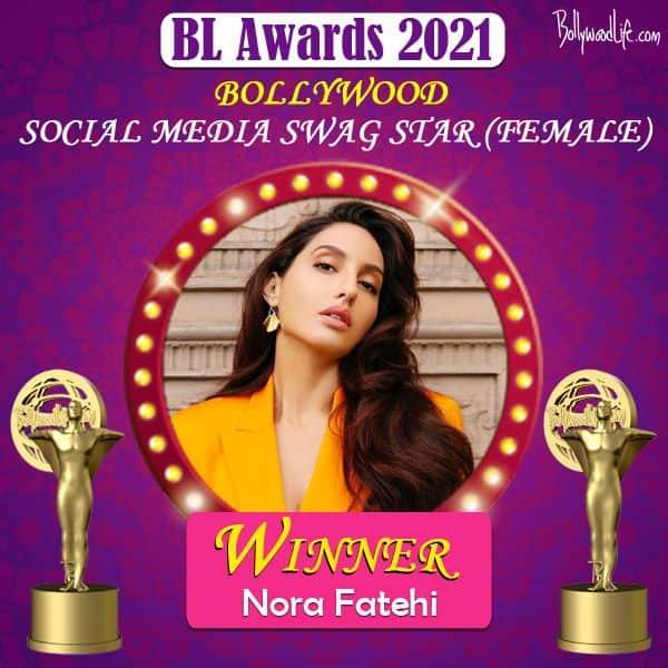 Social Media Swag Star (Female) - Nora Fatehi