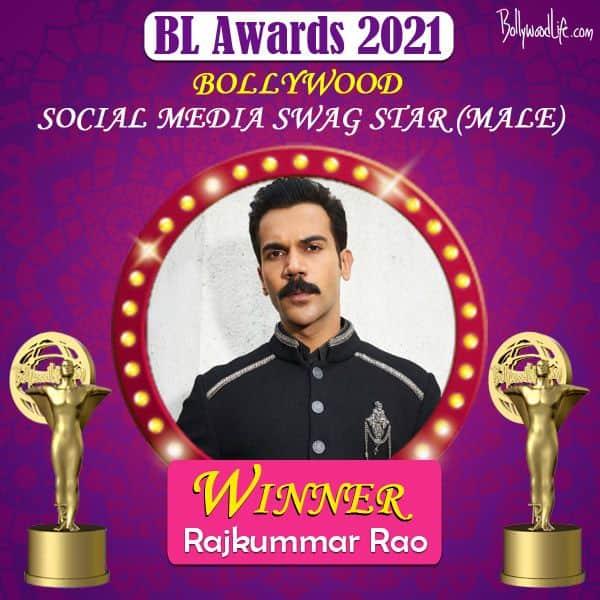 Social Media Swag Star (Male) - Rajkummar Rao