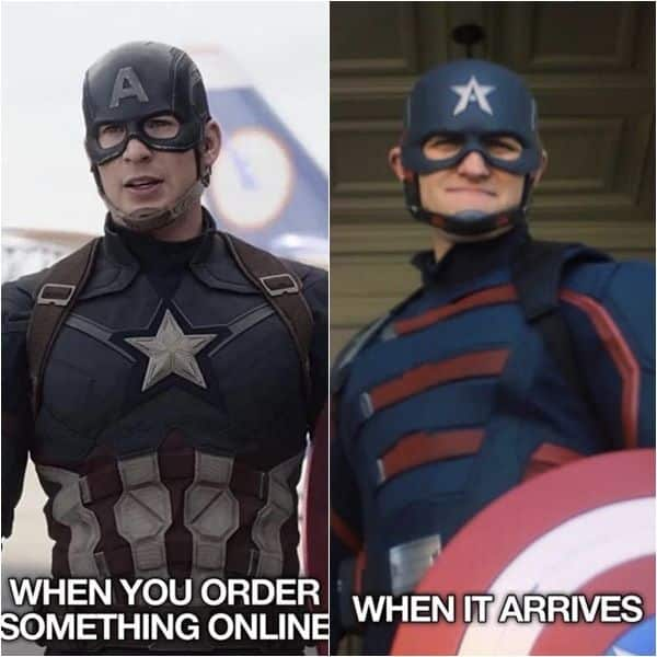Monday Memes: Fans reject the new Captain America from The Falcon and The  Winter Soldier with #NotMyCap meme fest