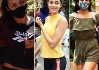 Celeb Spotting: Sara Ali Khan, Malaika Arora, Ananya Panday and more celebs hustle for fitness