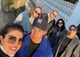 Priyanka Chopra reunited with Nick Jonas and in-laws, Kevin and Denise in London