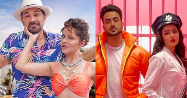 Rubina Dilaik-Abhinav Shukla keep their differences aside and groove to Jasmin Bhasin-Aly Goni's Tera Suit — - Bollywood Life