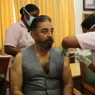 Kamal Haasan takes COVID 19 vaccine; says, 'Get yourself vaccinated now, we all can fight against corruption next month'