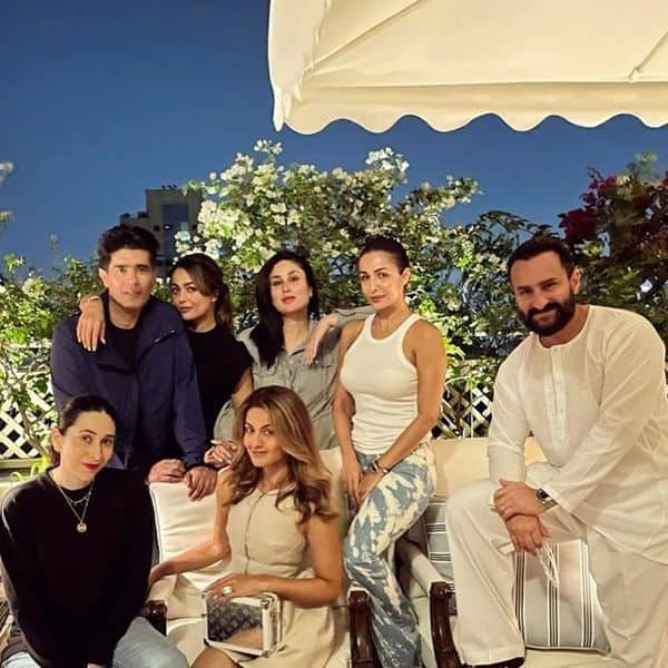 Mommy Kareena Kapoor Khan is back in party mode post delivery; enjoys a lovely evening with Karisma Kapoor, Saif Ali Khan, Malaika Arora and others