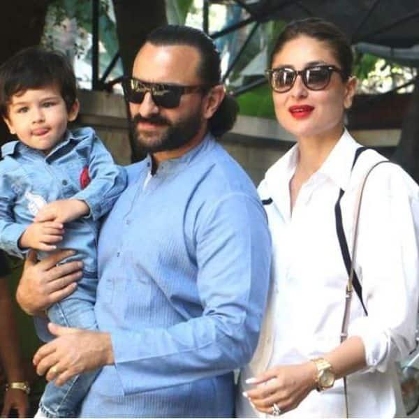 Saif Ali Khan and Kareena Kapoor Khan's firstborn son Taimur Ali Khan