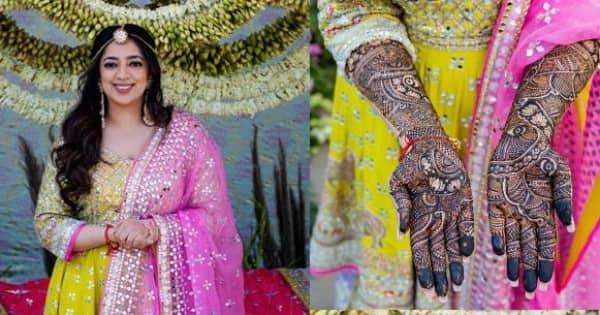 JP Dutta and Bindiya Goswami's daughter, Nidhi's mehendi ceremony was LIT – view pics - Bollywood Life