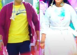 Pawan Singh और Anjana Singh का नया होली सॉन्ग 'Ghasai Rang Sagari' हुआ रिलीज, वीडियो में देखें मस्तमौला अंदाज