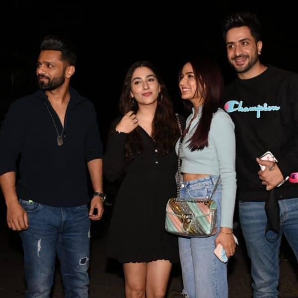 Rahul-Disha and Aly-Jasmin's double date