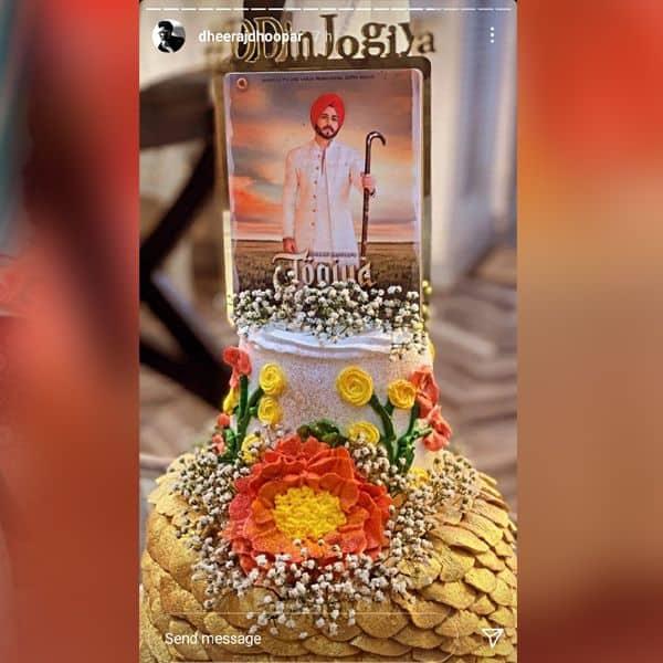 केक पर दिखी धीरज धूपर (Dheeraj Dhoopar) की शानदार तस्वीर