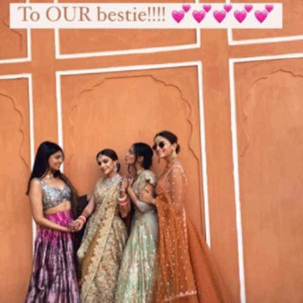 दोस्त रिया खुराना की शादी में आलिया भट्ट ने लगाए चार चांद