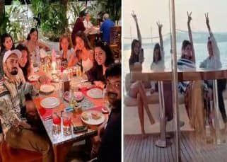 Ananya Panday enjoys dinner with team Liger as they wrap up the Goa schedule of the Vijay Deverakonda starrer — view pics
