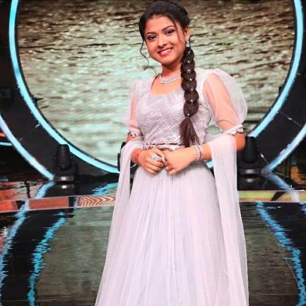 लहंगे में खूबसूरत लग रही हैं 'इंडियन आइडल 12' की कंटेस्टेंट अरुणिता कांजीलाल (Arunita Kanjilal)