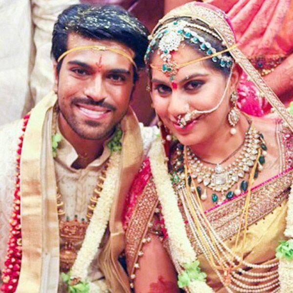 शादी में राजा-रानी की तरह तैयार हुए थे राम चरण और उपासना