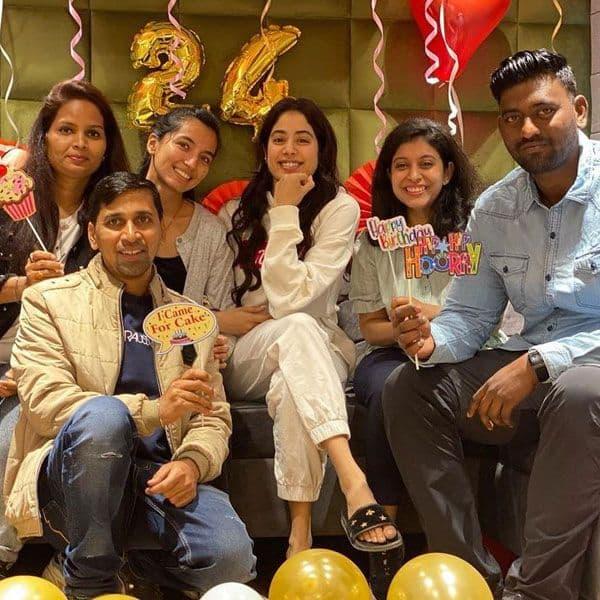 Janhvi Kapoor celebrates her 24th birthday