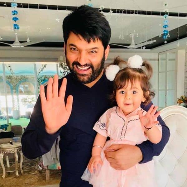 Kapil Sharma with daughter Anayra