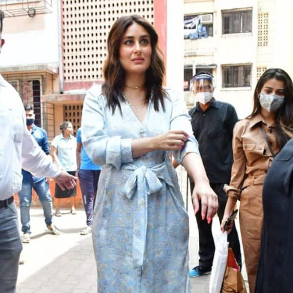 सफेद रंग की ड्रेस मे दिखीं Kareena Kapoor Khan