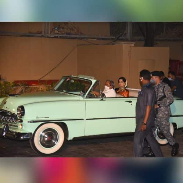 कंगना रनौत (Kangana Ranaut) ने चमचमाती कार में मारी एंट्री