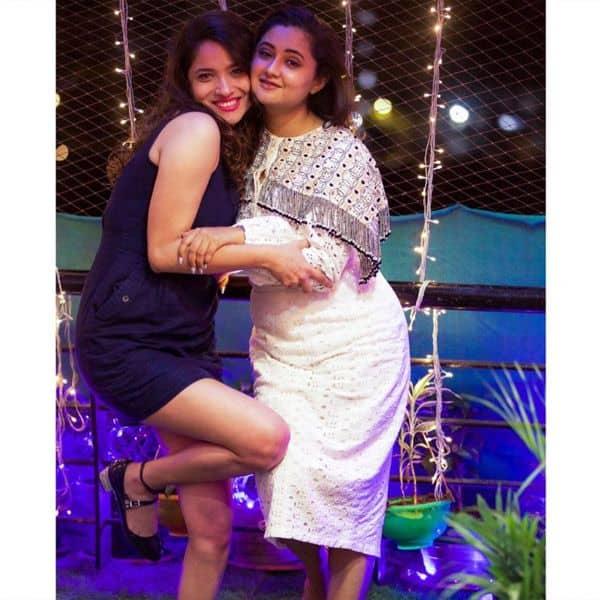 Ankita Lokhande and Rashami Desai