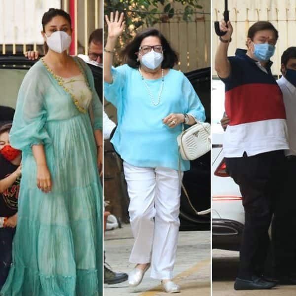 Kareena Kapoor Khan reaches Karisma's house