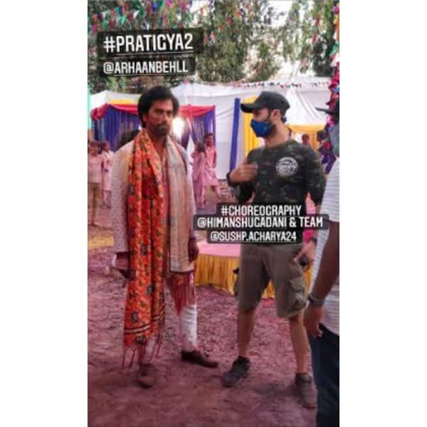 डांस रिहर्सल करते दिखे कृष्णा (Arhaan Behll) और प्रतिज्ञा (Pooja Gor)