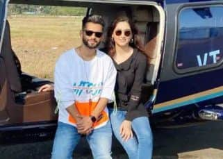 Rahul Vaidya and Disha Parmar remind us of Virat Kohli and Anushka Sharma as they enjoy a game of cricket