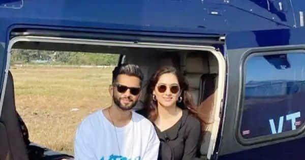 Bigg Boss 14's runner-up Rahul Vaidya takes girlfriend, Disha Parmar, on a vacation – view pics - Bollywood Life