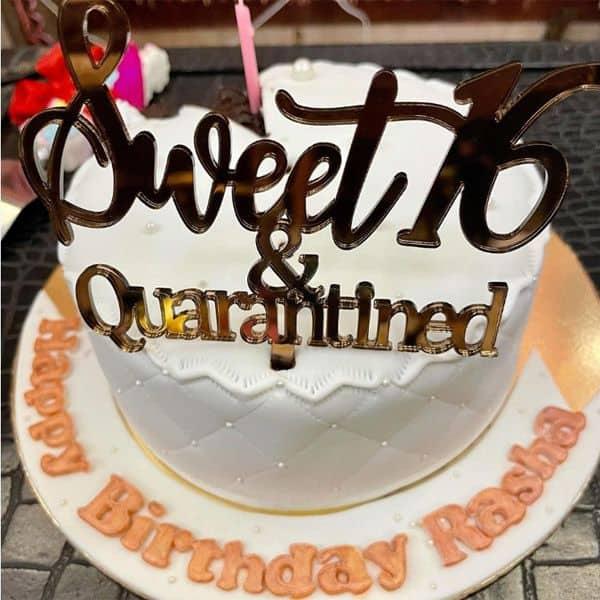 Sweet 16 quarantined