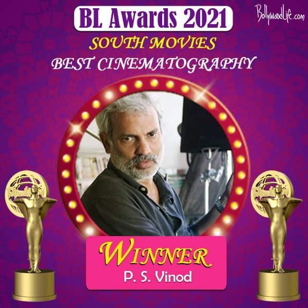 Best Cinematography - PS Vinod for Ala Vaikunthapurramuloo